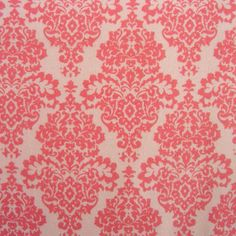 Quilter's Flannel Fabric- Damask Pink