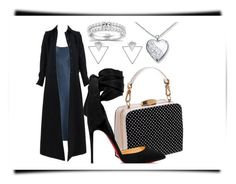 """""""Untitled #59"""" by mayaroger on Polyvore featuring Annello, Theory, Alaïa, Christian Louboutin and Eloquii"""