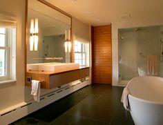 dig the vanity / mirror / sink combo.