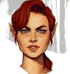 ArtStation - The Warden, Lindsay Dorlac Fantasy Character Design, Character Creation, Character Design Inspiration, Character Concept, Character Art, Concept Art, Fantasy Races, High Fantasy, Fantasy Rpg