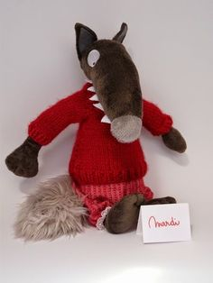 Tenue du loup qui voulait changer de couleur lundi les loisirs de choupy wolf and activities - Changer de couleur tricot ...