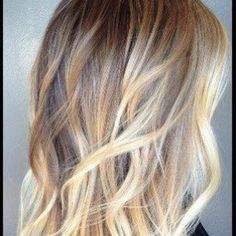 Blonde Ombre with brown highlights from the Inspiration Hairstyle Boards - Studio's West Salon Suites in Farragut, TN