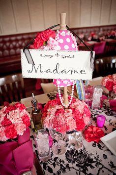 4ecd865b9cf3 Coco Chanel Bridal Shower Decor Chanel Bridal Shower