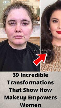 39 #Incredible Transformations That #Show How Makeup #Empowers Women Hilarious Memes, Funny Humor, Funny Tinder, Funniest Memes, Funny Tweets, Funny Stuff, Bridal Nail Art, Bridal Makeup, Romantic Wedding Receptions
