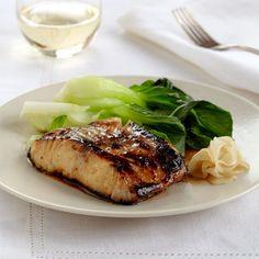 Black Cod with Miso by Nobu Matsuhisa, BNC '89. More Great Fish Recipes: http://www.foodandwine.com/slideshows/best-easy-fish #foodandwine #BNC25