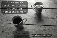 15 New Year's Resolutions for the Introverted Homeschool Mom