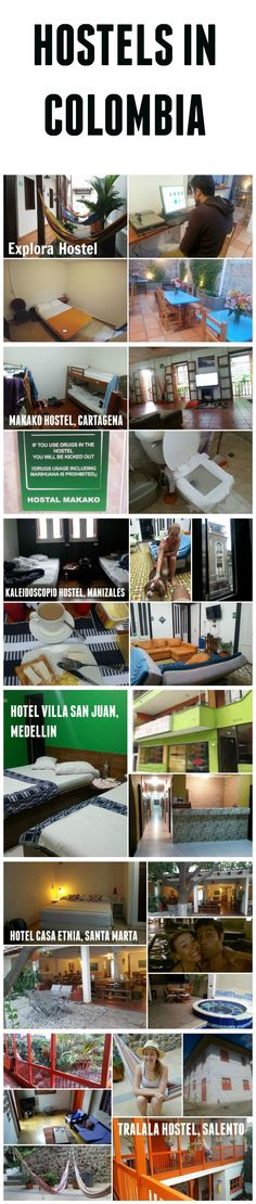 Where to stay in Colombia http://www.sarepa.com/2015/09/29/hostels-in-colombia/
