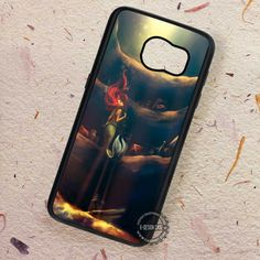Painting Art The Little Mermaid - Samsung Galaxy S7 S6 S5 Note 7 Cases & Covers