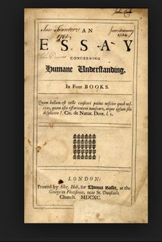 john locke an essay concerning human understanding book ii chapter 27