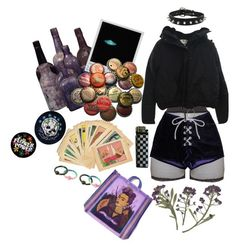 """""""kinda buzz that lasts for days"""" by teething ❤ liked on Polyvore featuring Bitching & Junkfood and Acne Studios"""