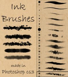 ink and watercolor brushes by stockry d4cuwp7 30+ Sets of Free Photoshop Paint Brushes