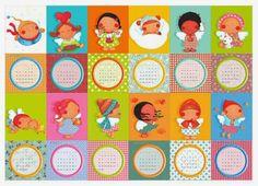 """Calendário """"VIVA 2015!"""" / """"VIVA2015!"""" calendar - Ilustração de Carla Antunes"""