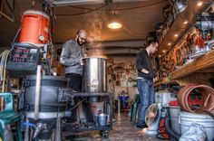 Home Distilling Is Illegal but Here's How to Do It Anyway. You'll be fine. Just don't let the kids open a bourbon stand out front. Brewing Recipes, Beer Recipes, Coffee Recipes, Home Brewery, Home Brewing Beer, More Beer, Wine And Beer, Home Distilling, Brewing Supplies