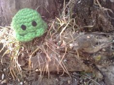 Handmade Green Baby Octopus Amigurumi Crochet Chibi by OwlPudding, $7.00