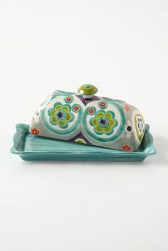 Anthropologie Okuno Butter Dish #anthrofave #anthropologie