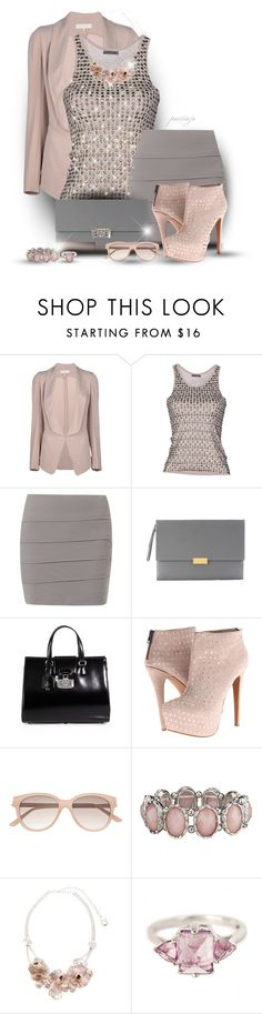 """This Stud's For You"" by rockreborn ❤ liked on Polyvore featuring Vanessa Bruno, Cut It Out, Holly Golightly, STELLA McCARTNEY, Gucci, Betsey Johnson, Witchery, Lara Bohinc and Anna Sheffield"