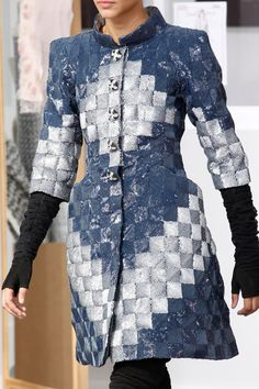 Chanel Fall 2016 Couture Fashion Show Details. Inspiration for upcycled denim?