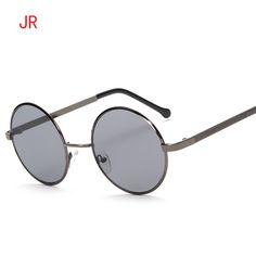 efeabeaa49 Gothic Steampunk Sunglasses Men Women Metal WrapEyeglasses Round Shades Brand  Designer Sun glasses Mirror High Quality UV 400-in Sunglasses from Women s  ...