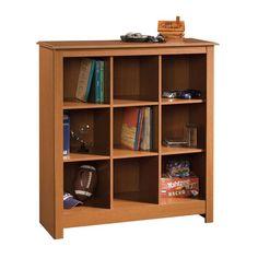 3-Shelf Cubby Bookcase at SmartFurniture.com