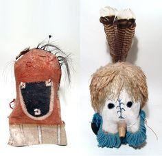 Hopi masks, mid-20th century