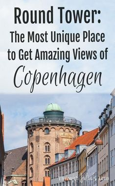The Round Tower in Copenhagen is one of the most unique buildings in the city. You can get cool photos inside and amazing views of Copenhagen from the top! Europe Destinations, Ukraine, Denmark Travel, Travel Netherlands, Baltic Cruise, Copenhagen Travel, European Travel, Travel Europe, Travelling Europe