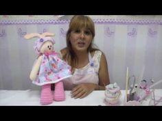 Coneja de Pascua - Explicacion paso a paso - YouTube