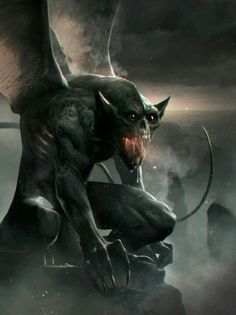 Gargoyles from the Brimstone World of Diablo which may not include their one of 1st origin(' '~;-' ', z/! ~€~```···.... |