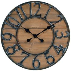 Chaney Rustic Wall Clock  (AFFILIATE)