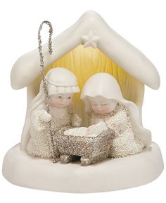 Department 56 Snowbabies Collectible Dream Beneath the Chimney Figurine - Holiday Lane - Macy's