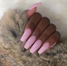 pinterest: bellaxlovee ✧☾ French Nails Glitter, Fancy Nails, Cute Nails, Pretty Nails, Long Natural Nails, Long Nails, Fabulous Nails, Perfect Nails, Nail Ring