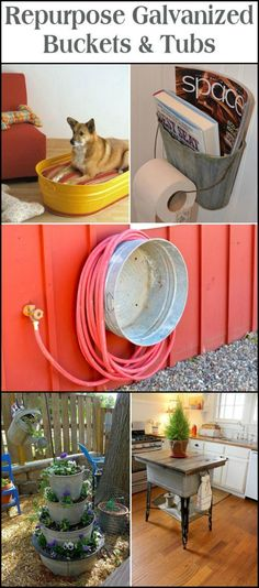 Creative Ways to Repurpose Your Old Galvanized Buckets!