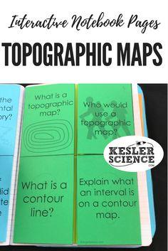 Topographic Maps Lesson Plan | Lesson Planet | 8th grade ...
