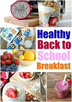 Simple Breakfast Ideas That Are Healthy for back to school and beyond, The berry smoothie recipes are my favorite!