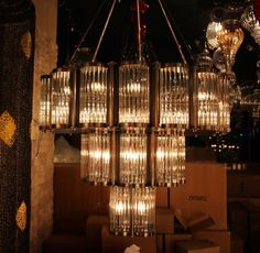 OUTSTANDING! We are in love with Handmade Chandeliers and our Morrocan Inspired Luxurious Chandelier is a true beauty! It will be online today and will not stay long…