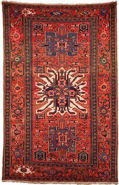 4.5 x 6.5 Antique Persian Handmade Rug