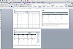 Jak zaplanować posty na bloga? justineyes.com #planowaniepostow #blog #planner #template