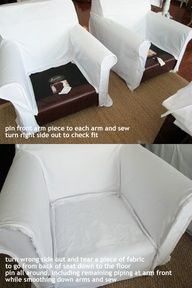 Chair Slipcovers;similar to my english chair for kitchen