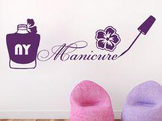 Wall Decals Beauty Salon Nail Design Nail Polish Manicure Flower Decal Vinyl Sticker Home Decor Beauty Salon Living Room Art Murals Dear Buyers,