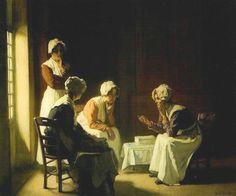 Resting ~ Claude Joseph Bail ~ (French: 1862-1921)