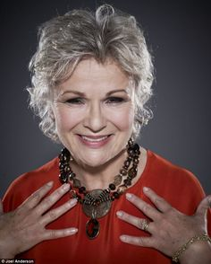 Julie Walters says she has gone grey gracefully: 'Everyone says they love it, so I've kept it. Frankly, it's great not to have to dye my roots every five minutes, which my dear mum did into her 70's