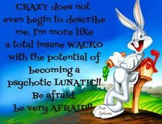 they are saying this about bugs bunny? Sigmund Freud, Bugs Bunny, Funny Images, Funny Pictures, Funny Pics, Crazy Pictures, Amazing Pictures, Bunny Quotes, Looney Toons