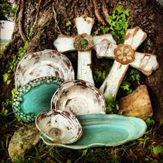 New things for Spring at Etta B Pottery... Mississippi Pottery!