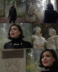 "Regina - 6 * 10 "" Wish you were here"" pretty sure Regina was laughing internally this whole episode."