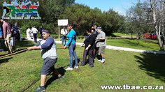 Tug of War Team Building Activity #Woolworths #TeamBuilding #CorporateFunDay