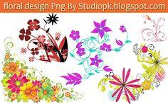 25 Floral Designs Png Download