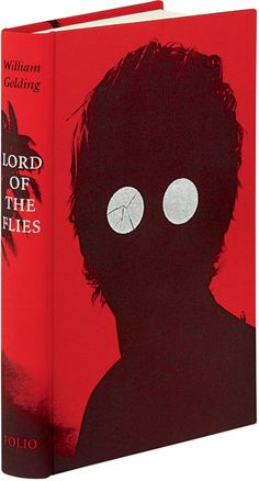 Creepy but awesome Lord of the Flies Book Design.     from up noth