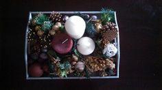 Dyi Christmas centerpiece