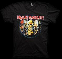 Evolution T-Shirt by Iron Maiden | Official Iron Maiden T-Shirt