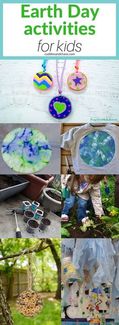 Earth Day activities for kids #earthday