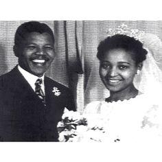 Nelson Mandela, mariage avec Winnie